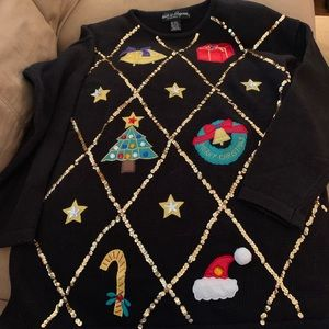 Sweaters - Christmas sweater tunic